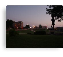 Blue Hour At Fawick Park Canvas Print