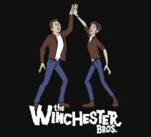 Winchester Brothers Supernatural Venture Bros  by BlackWater