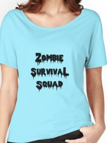 Zombie Survival Squad Women's Relaxed Fit T-Shirt