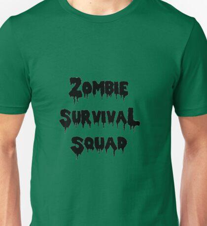 Zombie Survival Squad Unisex T-Shirt