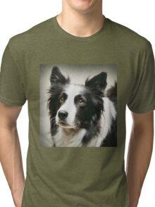 Working Border Collie Tri-blend T-Shirt