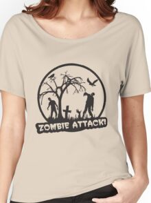 Zombie Attack! Women's Relaxed Fit T-Shirt