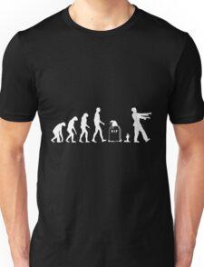 Evolution Zombie Unisex T-Shirt