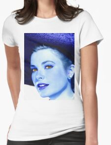 Grace Kelly Womens Fitted T-Shirt