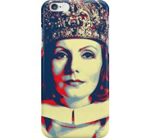 Greta Garbo in Queen Christina iPhone Case/Skin
