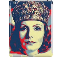Greta Garbo in Queen Christina iPad Case/Skin