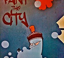Paint the city! by Tim Constable