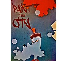 Paint the city! Photographic Print