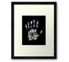 Six Fingers  Framed Print