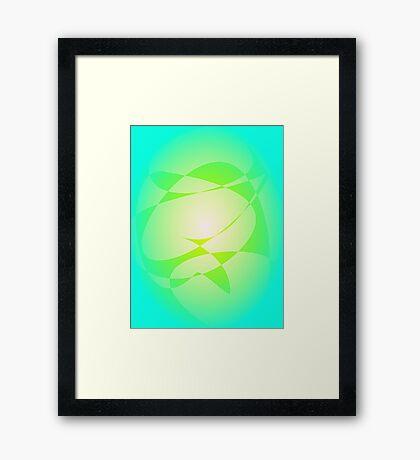 Vegetable Color Framed Print