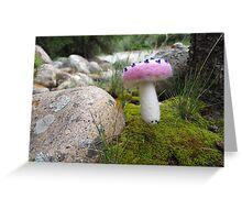 Alice's mushroom Greeting Card