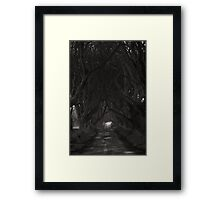 Light at the end of the tunnel... Framed Print