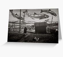Chinook Wind Greeting Card