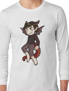 Smaug, you're smiles looks suspicious! Long Sleeve T-Shirt