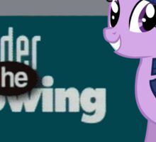Twilight Sparkle Consider the following Sticker