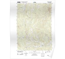 USGS Topo Map  Vermont VT Andover 20120507 TM Poster