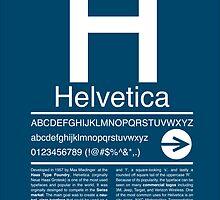 Helvetica Type Specimen by kmaesing