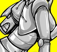 Robot Pinup Sticker