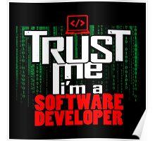 Trust me, I'm a software developer Poster