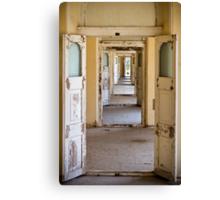 Hall of Doors Canvas Print
