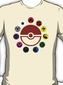 Pokemon TCG Types T-Shirt