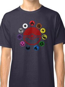 Pokemon TCG Types Classic T-Shirt