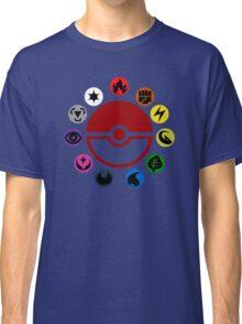 Pokemon TCG Types Classic T-Shirt