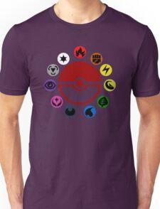 Pokemon TCG Types Unisex T-Shirt