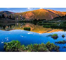 Loveland Pass inn Reflection Photographic Print