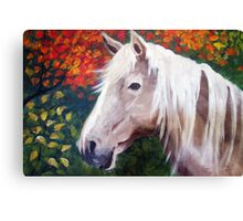 Blondie in the Fall Canvas Print