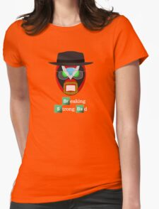 Breaking Strong Bad Womens Fitted T-Shirt