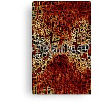 Hell's gate Canvas Print