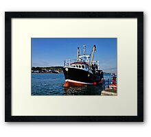 New Seeker Coming Into Harbour Framed Print