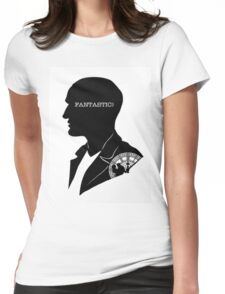ECCLESTON Womens Fitted T-Shirt
