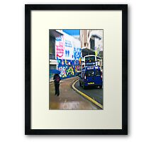 Rush hour! Framed Print