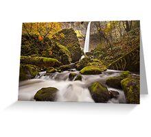 Elowah Falls, Columbia River Gorge Greeting Card