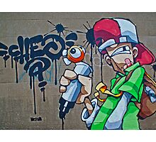 The scribbler street art- Cheo by Tim Constable