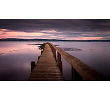Culross Jetty Photographic Print