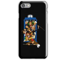 Bigger on the Inside My Bum! (Color Image) iPhone Case/Skin
