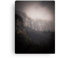 Landscape Fog Canvas Print