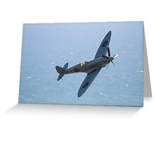 The Spitfire  Greeting Card