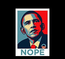 Barrack Obama - Nope by TomDesigns