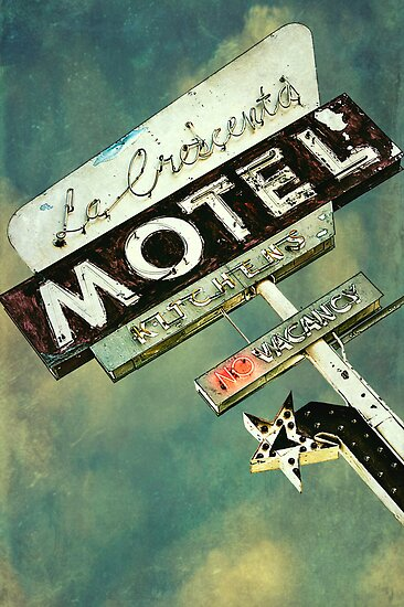 La Crescenta Vintage Motel Sign by Honey Malek