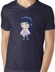 Hinata Hyuuga Chibi Mens V-Neck T-Shirt