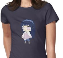 Hinata Hyuuga Chibi Womens Fitted T-Shirt