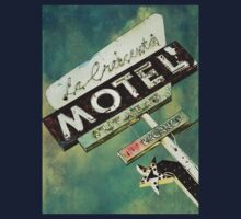 La Crescenta Vintage Motel Sign Kids Clothes