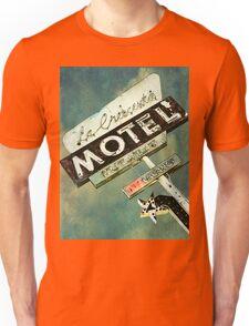 La Crescenta Vintage Motel Sign Unisex T-Shirt