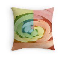 Candy Swirl Throw Pillow