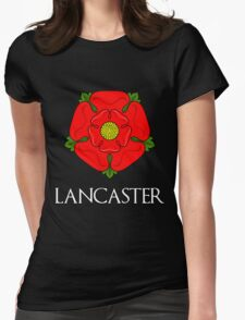 The House of Lancaster - with text Womens Fitted T-Shirt