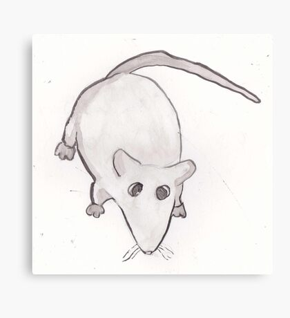 Buffy the Rat. Canvas Print